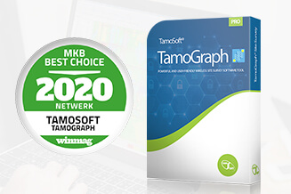 WiFi meting software TamoGraph wint MKB Best Choice award 2020