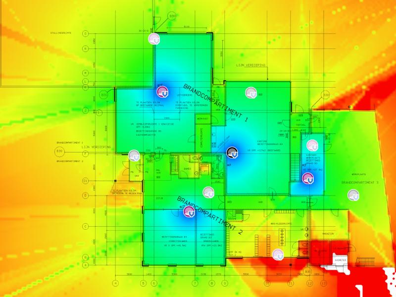 TamoGraph Site Survey - Wifi meting