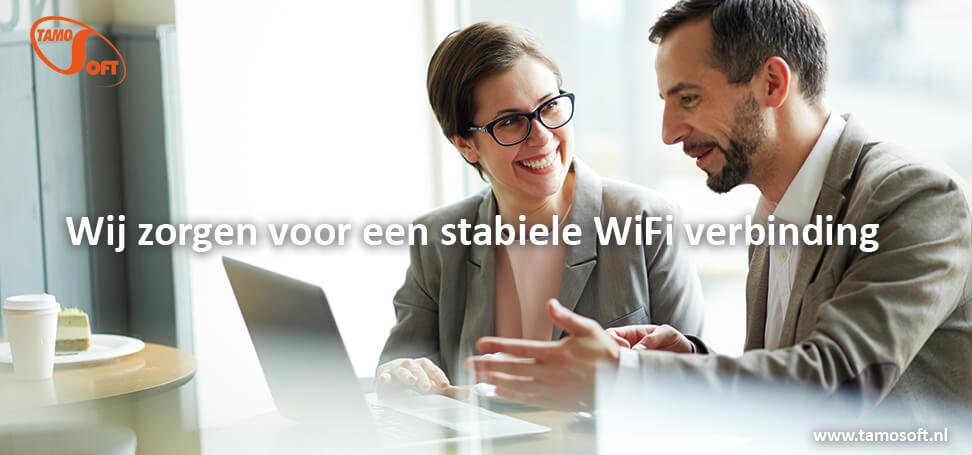 WiFi Specialist TamoSoft zorgt voor een stabiele WiFi verbinding